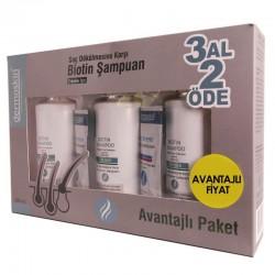 Dermoskin Biotin Şampuan Erkek 200 ml 3 Al 2 Öde