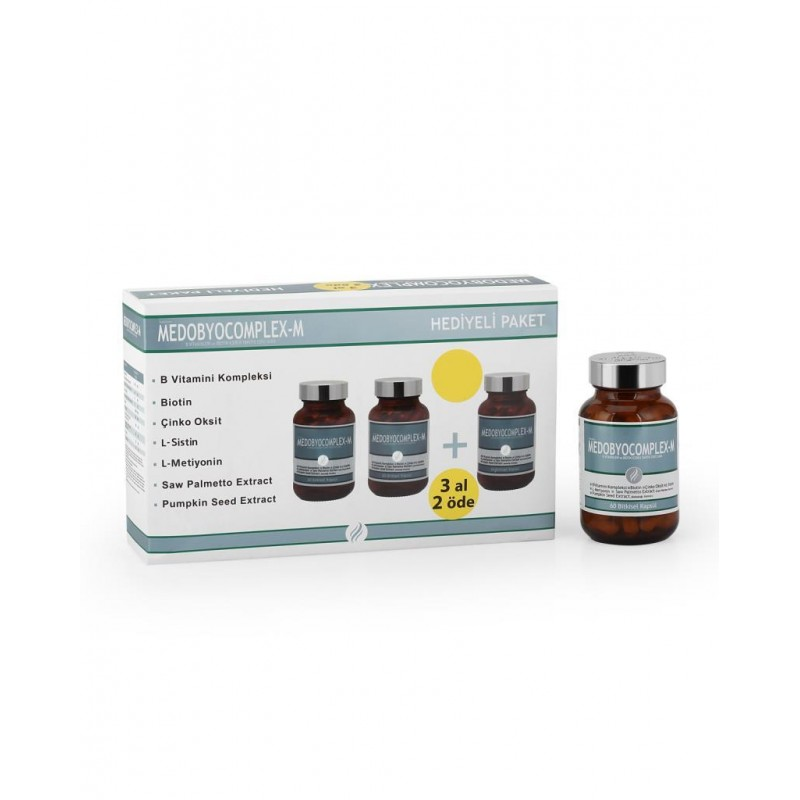 Dermoskin Medobyocomplex Erkek 60 Kapsül 3 Al 2 Öde