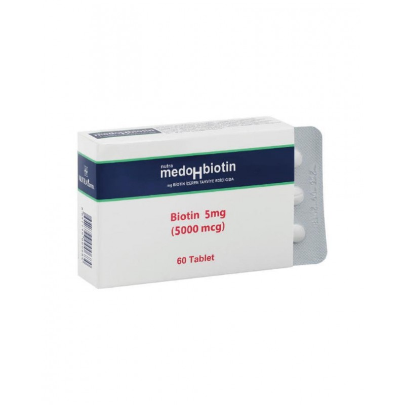 Dermoskin Medohbiotin Biotin 5 mg 60 Tablet