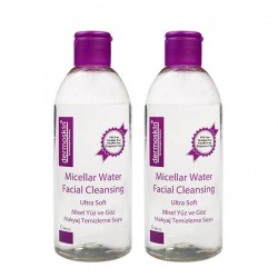 Dermoskin Micellar Water - Facial Cleansing 2x400 ml