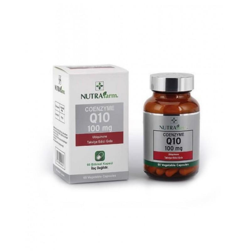 Dermoskin Nutrafarm Koenzim Q10 100 Mg 60 Tablet