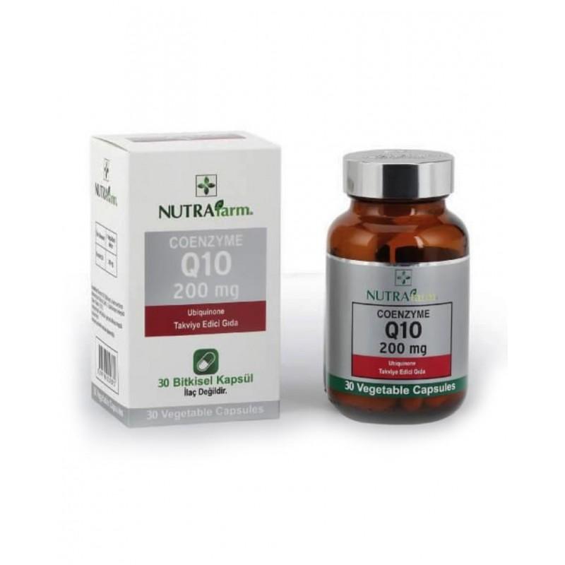 Dermoskin Nutrafarm Koenzim Q10 200 mg 30 Tablet