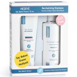 Dermoskin Revitalizing Shampoo 200 ml + Saç Bakım Kremi 75 ml Hediye