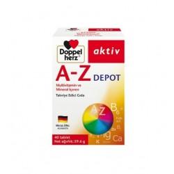 Doppelherz Aktiv A-Z Depot Multivitamin 40 Tablet