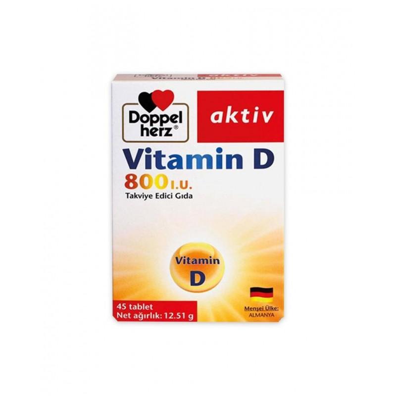Doppelherz Aktiv Vitamin D 45 Tablet