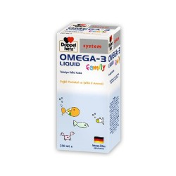 Doppelherz Omega 3 Liquid Family 250 ml Şurup
