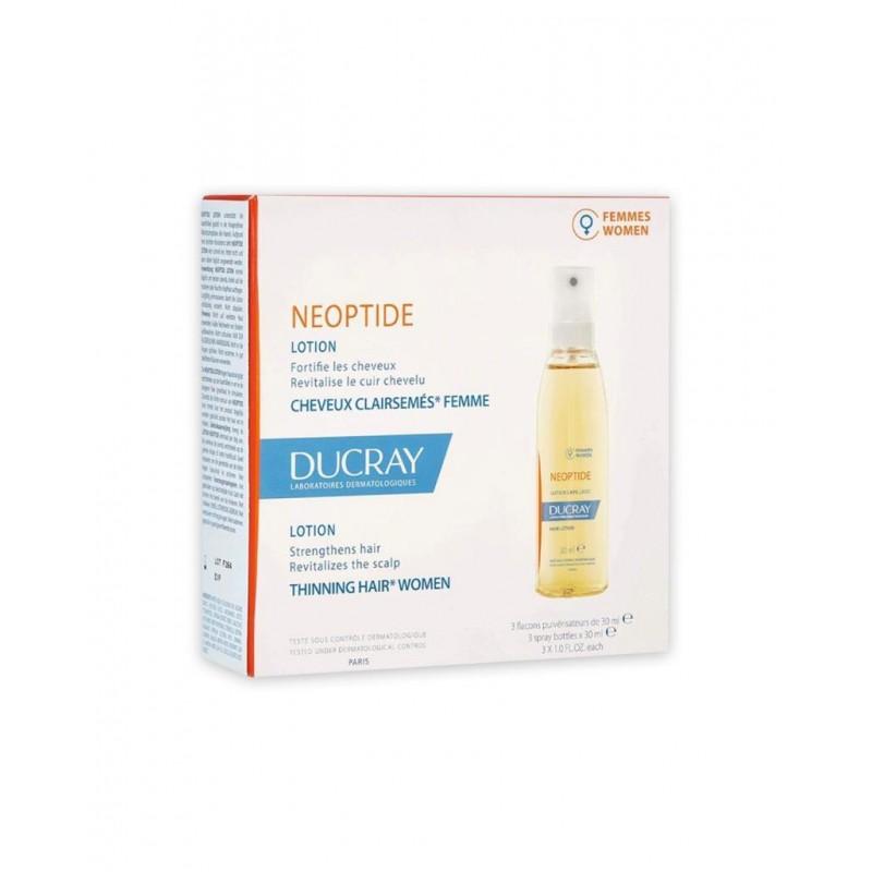Ducray Neoptide Women Lotion 3x30 ml