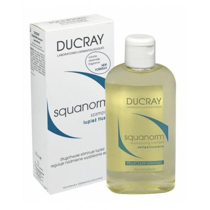 Ducray Squanorm Oily Dandruff Şampuan 200 ml