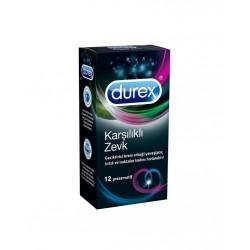 Durex Karşılıklı Zevk Prezervatif 12'li