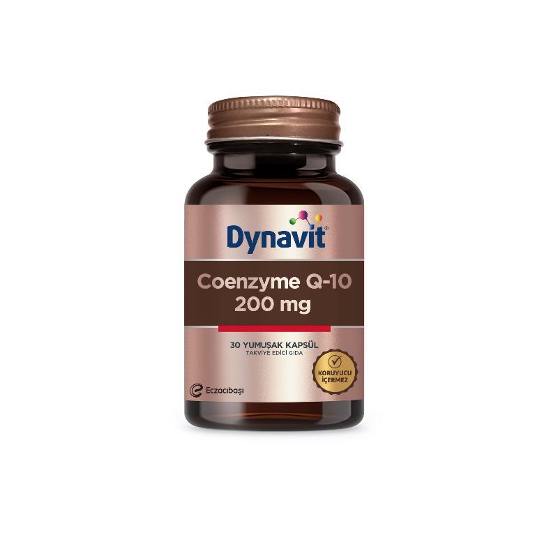 Dynavit Coenzyme Q10 200 mg 30 Yumuşak Kapsül