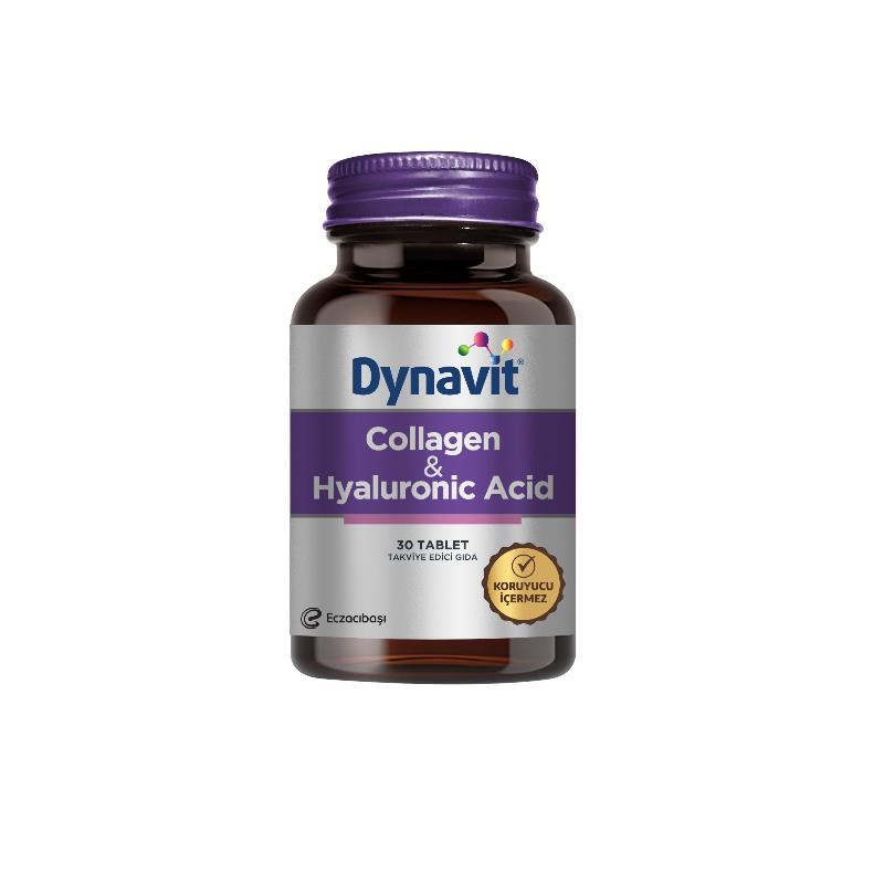 Dynavit Collagen + Hyaluronik Acid 30 Tablet SKT: 10/2021