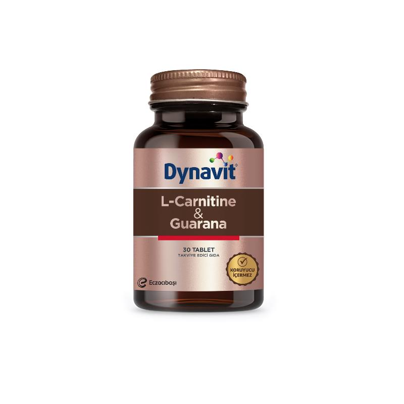 Dynavit L-Carnitine & Guarana 30 Tablet