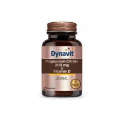 Dynavit Magnesium Citrat + Vitamin D 60 Tablet