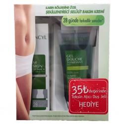 Elancyl Slim Design Ventre Plat 150 ml + Duş Jeli Hediye
