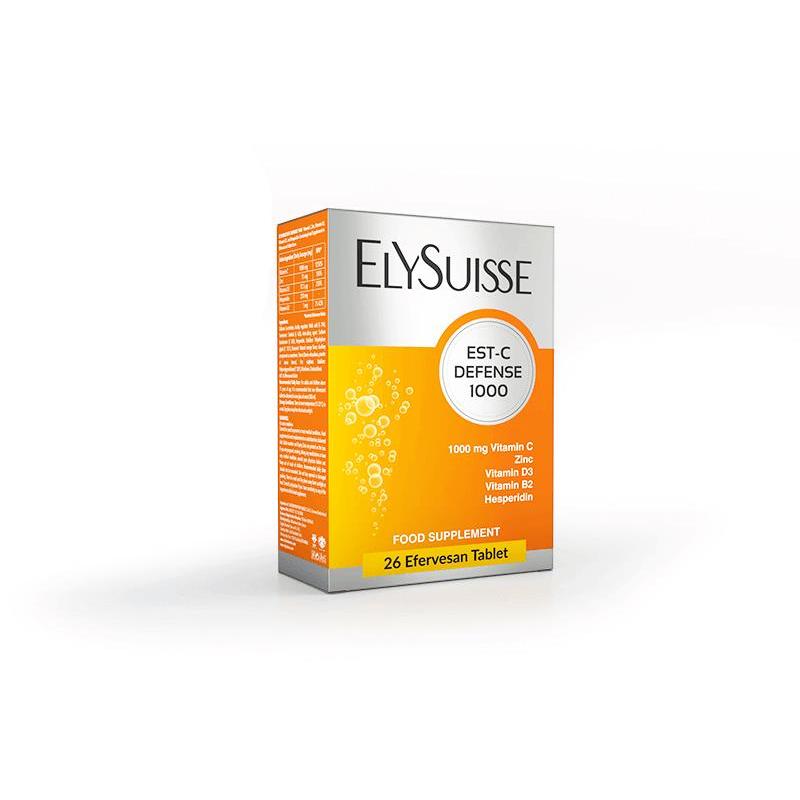 Elysuisse Est-C Defence 1000 mg 2 x 13 Tablet