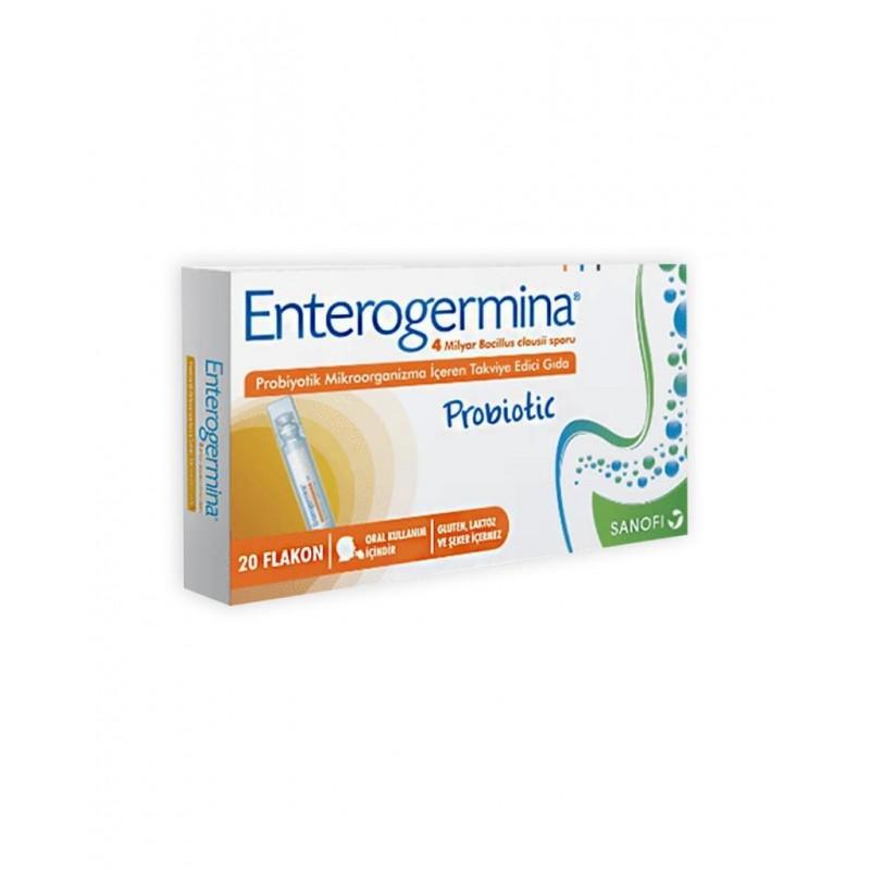 Enterogermina Yetişkinler İçin 5 ml x 20 Flakon