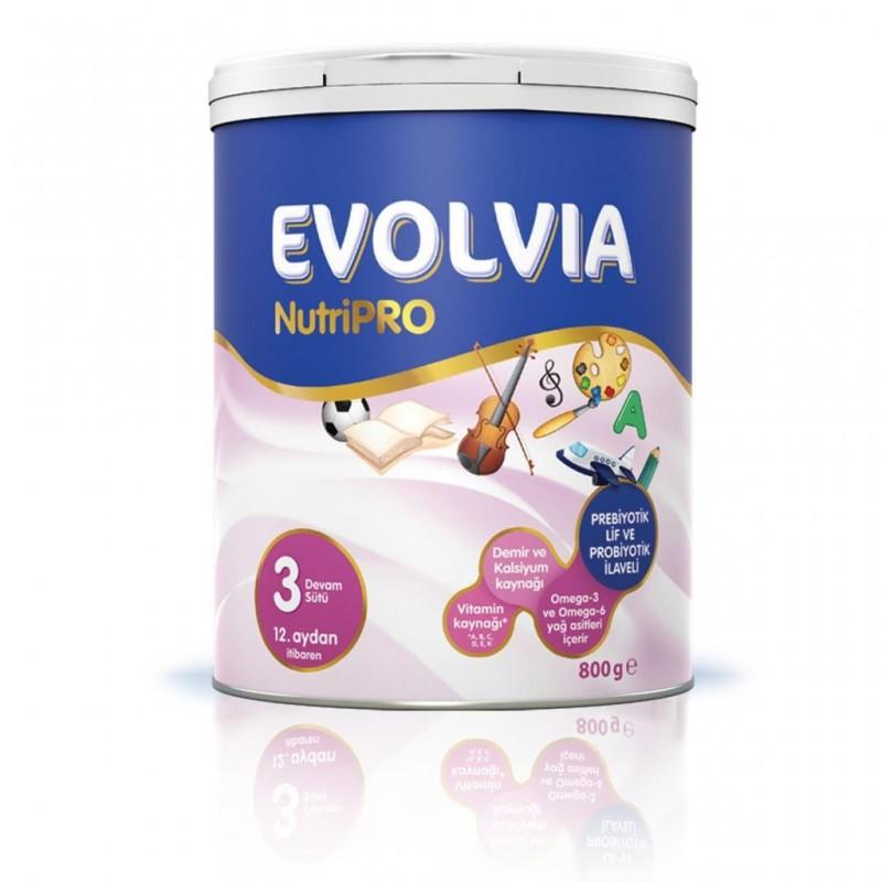 Evolvia Nutripro 3 Devam Sütü 800 gr 12. Aydan İtibaren