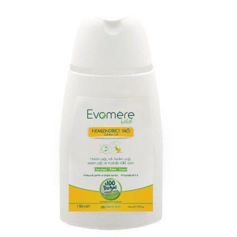 Evomere Nemlendirici Yağ 100 ml (Çok Kuru Ciltler için)