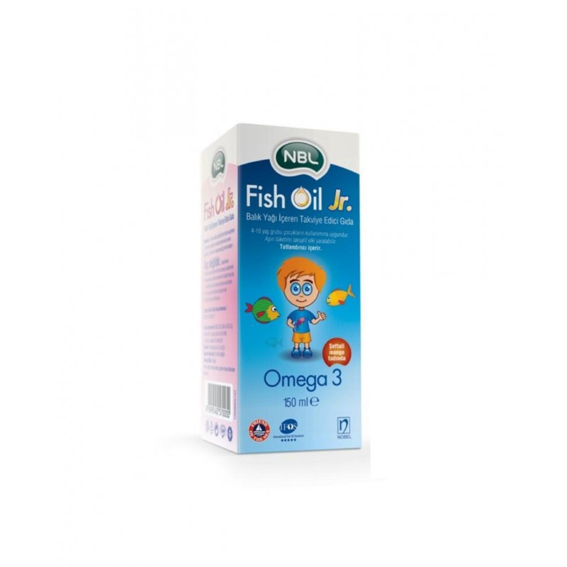 Nbl Fish Oil Jr. 150 ml