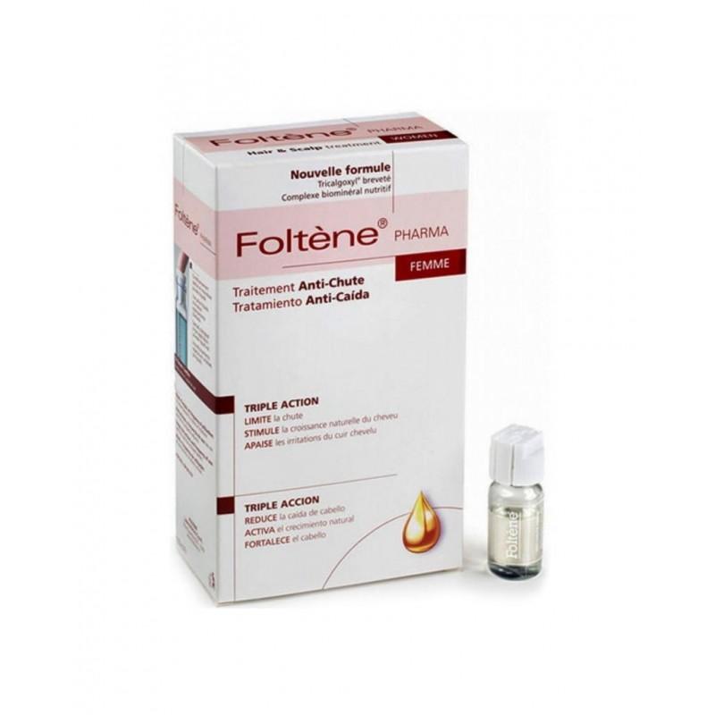 Foltene Pharma Saç Dökülmesine Karşı 12 Adet Flakon - Kadın