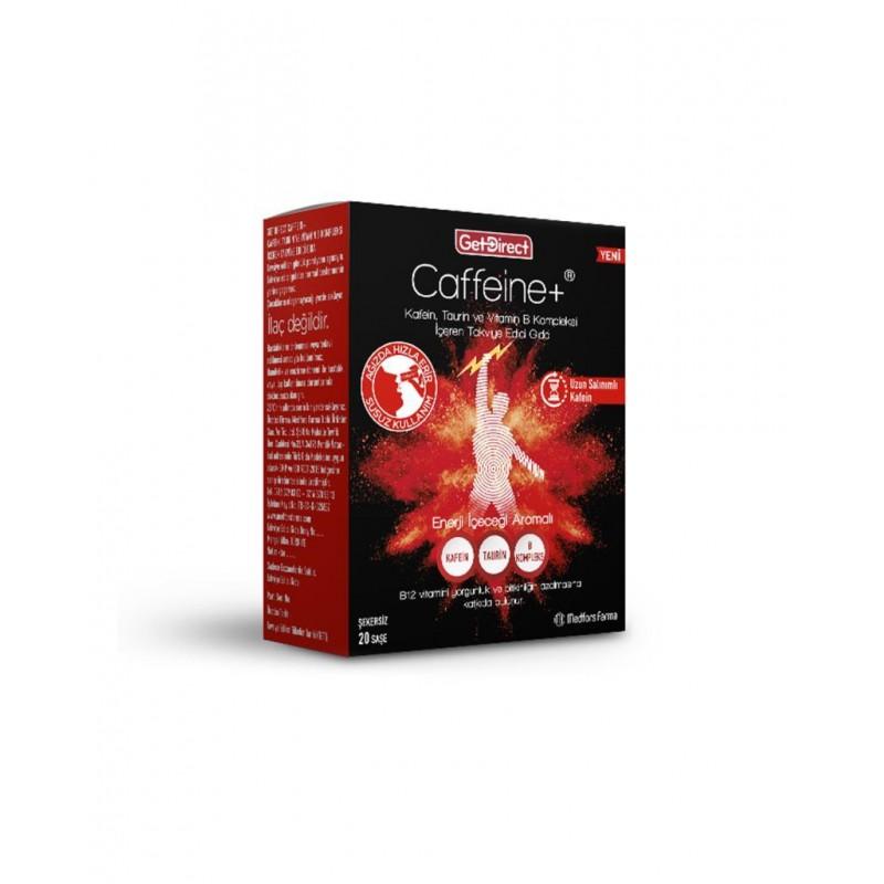 GetDirect Caffeine+  20 Saşe