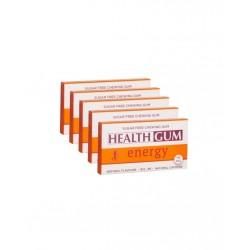 Healthgum Energy Sakız 5 x 14 Adet