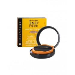 Heliocare 360 Color Kompakt Fondöten Spf50+ Bronze 15 gr