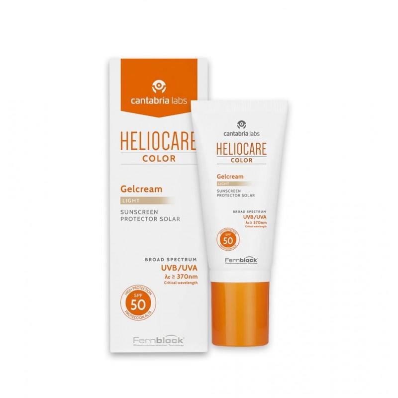 Heliocare Color Gelcream Light Spf50 50 ml