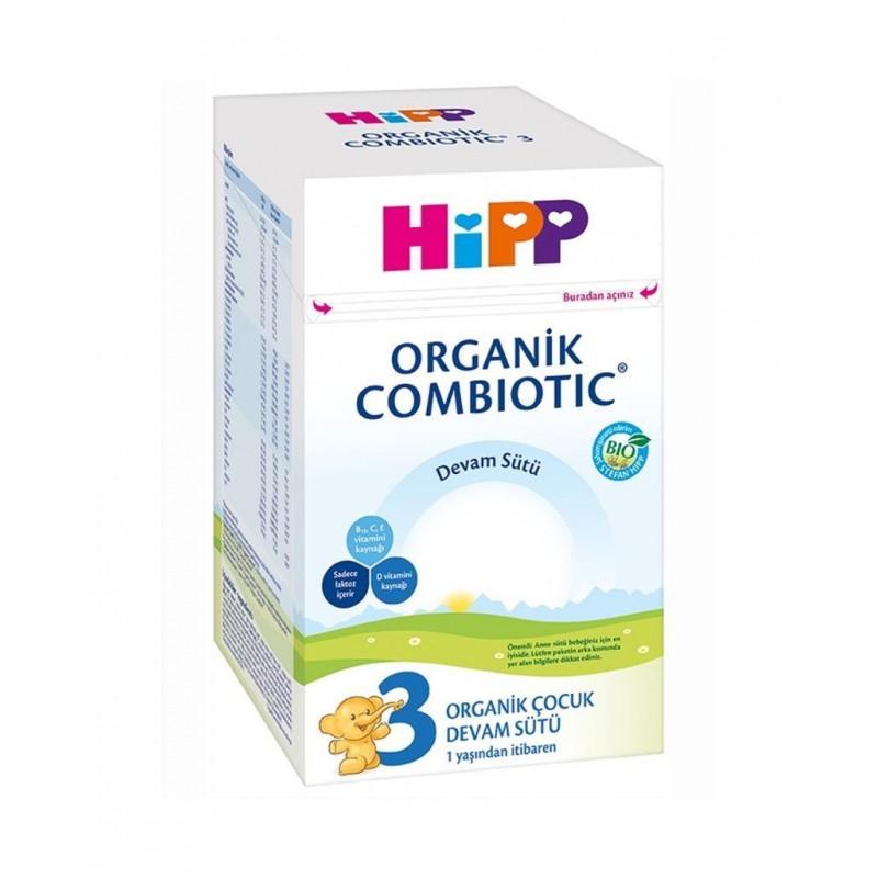 Hipp 3 Organik Combiotic Devam Sütü 800 gr