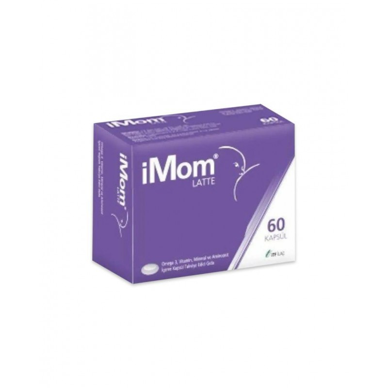 iMom Latte Omega 3 60 Kapsül
