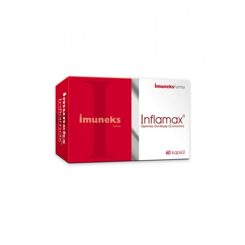 İmuneks Inflamax 60 Kapsül (Curcumin)