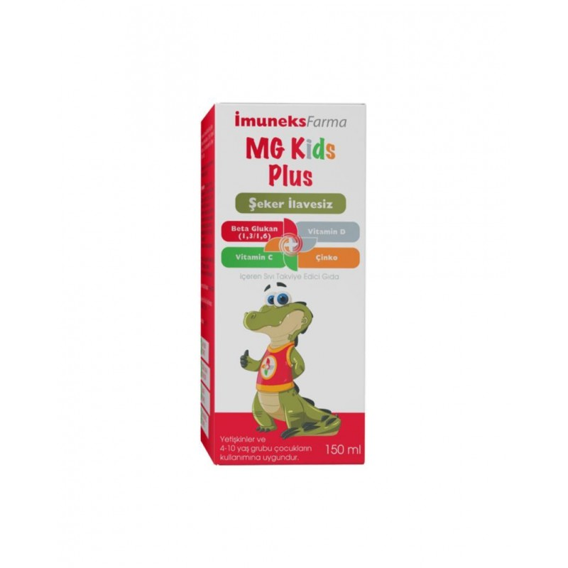 İmuneks Mg Kids Plus 150 ml