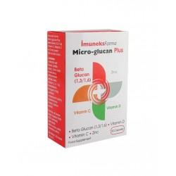 İmuneks Micro Glucan Plus Beta Glucan 30 Kapsül