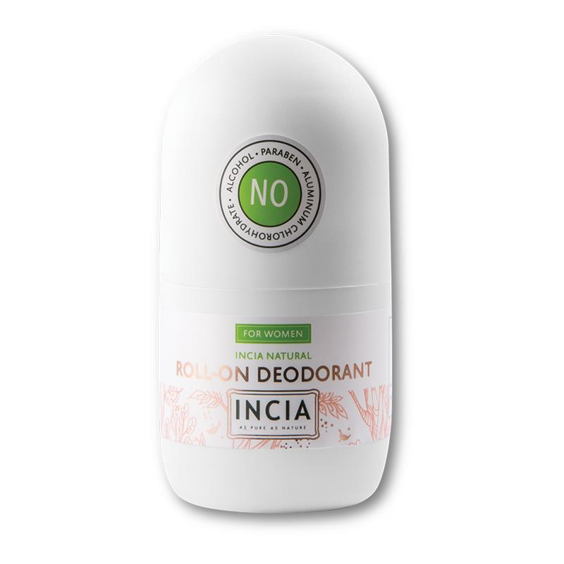 İncia Doğal Roll-On Deodorant 50 ml - Kadınlar için