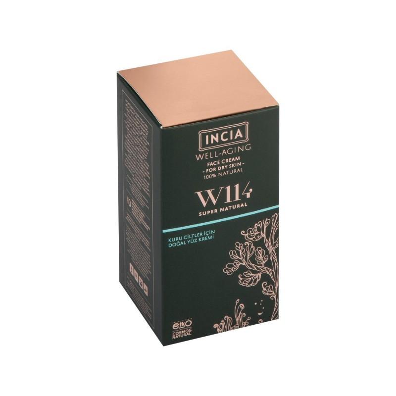 İncia Well Aging Doğal Yüz Kremi Kuru Ciltler İçin 30 ml