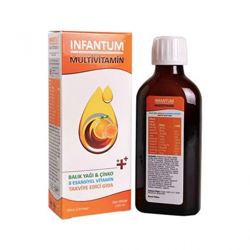İnfantum Multivitamin Şurup 200 ml