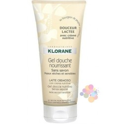Klorane Gel Douche Douceur Lactee Duş Jeli 200 ml