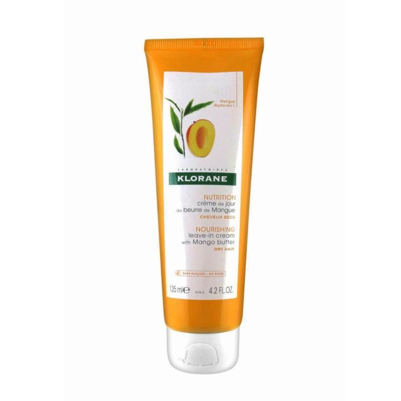 Klorane Mango Yağı Özlü Kuru Boyalı Yıpranmış Saçlar için Bakım Kremi 125 ml