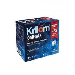 Krilom Omega 3 Yumuşak 100 Kapsül