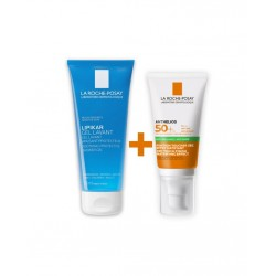 La Roche Posay Anthelios Dry Touch Gel Cream Spf50 50 ml & Lipikar Gel Lavant 100 ml