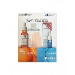 La Roche Posay Vitamin C10 Işıltı Veren Serum 30 ml & Hyalu B5 Dolgunlaştırıcı Serum 10 ml