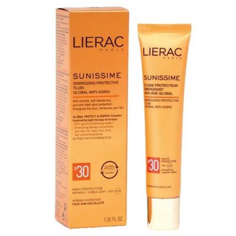 Lierac Sunissime Energizing Protective Fluid Spf30 40 ml Güneş Kremi