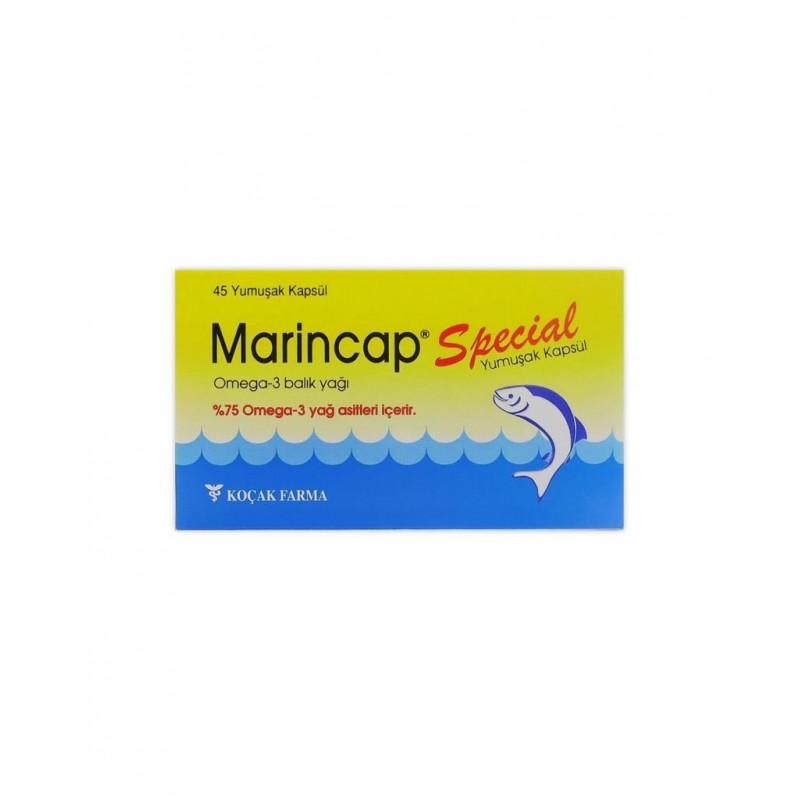 Marincap Special Omega-3 Balık Yağı 45 Yumuşak Kap
