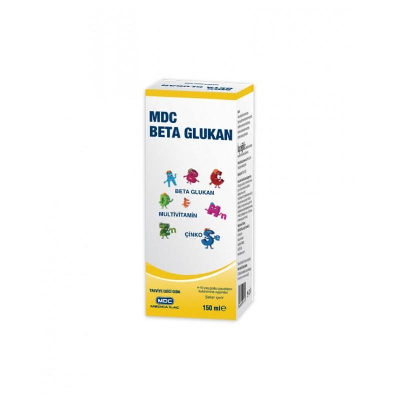 MDC Beta Glukan Multivitamin Çinko 150 ml