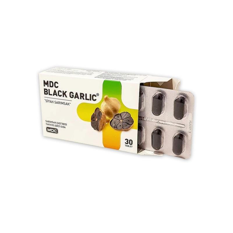 MDC Black Garlic Siyah Sarımsak 750 mg 30 Tablet