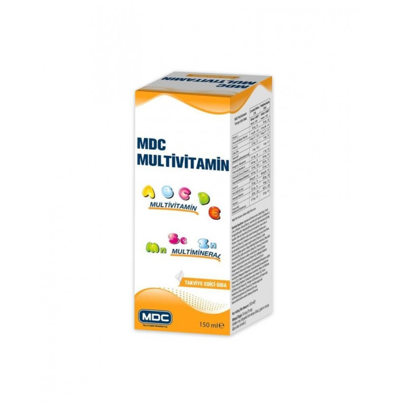 MDC Multivitamin Multimineral 150 ml