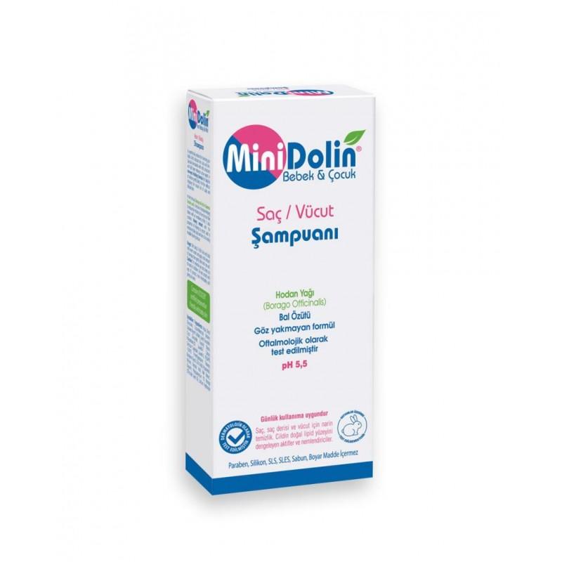 Minidolin Saç ve Vücut Şampuanı 250 ml