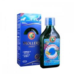 Möllers Balık Yağı Şurubu Tutti Furitti 250 ml