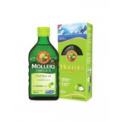 Möllers Balık Yağı Şurubu Elma Aromalı 250 ml