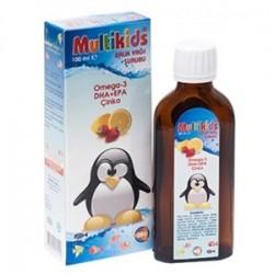 Multikids Balık Yağı Şurubu 100 ml